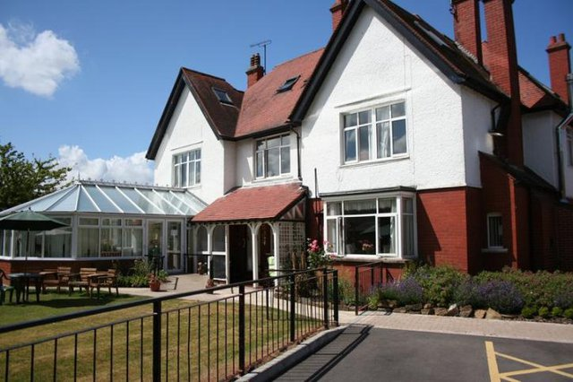 The Orchards Residential Care Home in Swindon front exterior of home