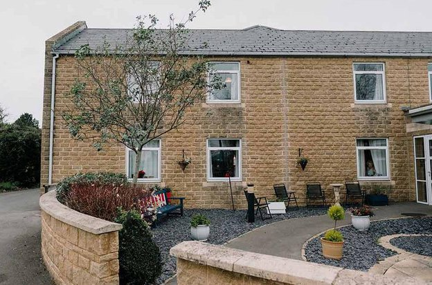 The Orchards Nursing Home in Crewkerne, Somerset exterior of home