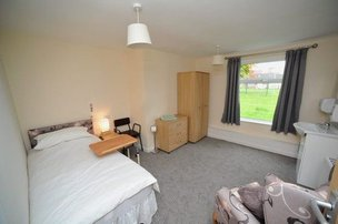Bedroom at The Place Up Hanley