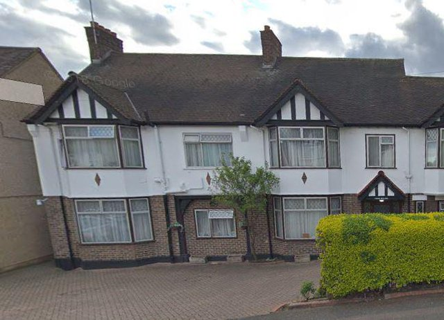 Three Willows Care Home in Chingford exterior of home