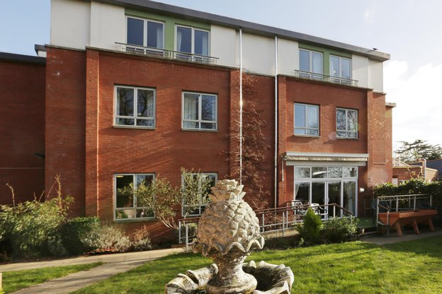 Torkington House Care Home in Acton outside of home