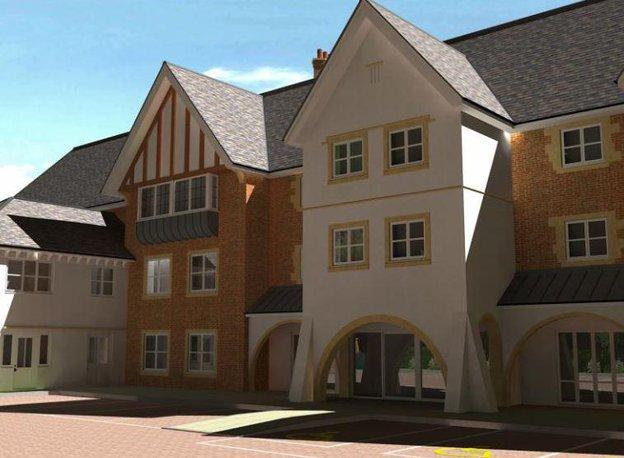 Trinity Manor Care Home in Sherborne