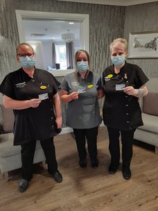 Care Home Staff Put Residents First with 100% Covid Vaccine Uptake