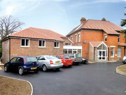 Westbourne Nursing Home in Gloucester exterior of home