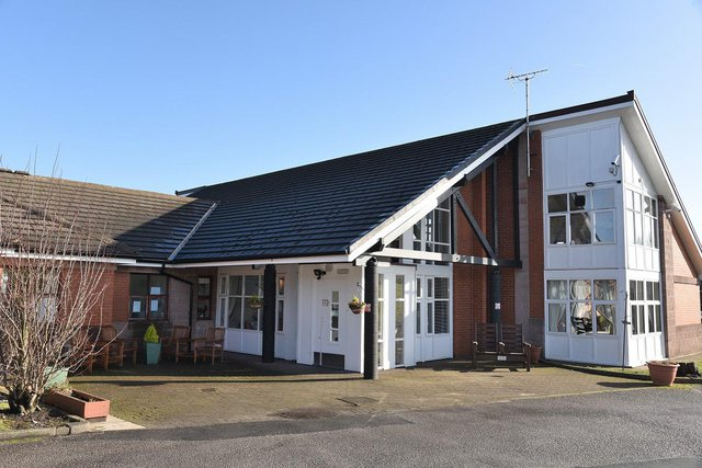White Ash Brook Nursing Home in Accrington front exterior of building