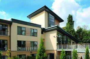 Whittington House Nursing Home in Cheltenham exterior of home