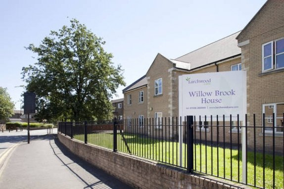 Willow Brook House Care Home in Corby exterior of home