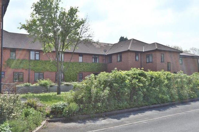 Willow Bank House Residential Care Home in Pershore exterior of home