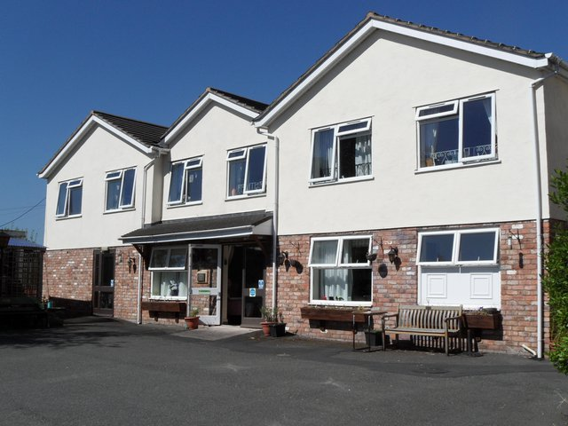 Willowdale Care Home in Swadlincote exterior of the home