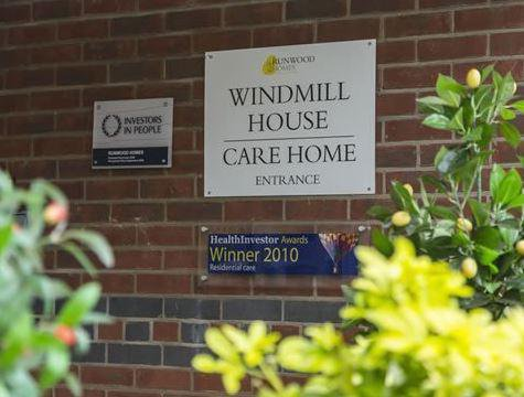 Windmill House Care Home in Norfolk
