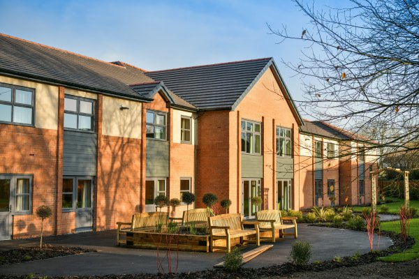 Windsor Court Care Home in Wetherby, West Yorkshire Exterior