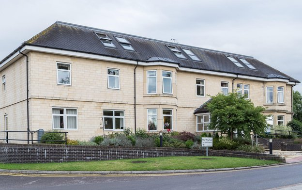 The Wingfield Nursing Home in Trowbridge exterior of home
