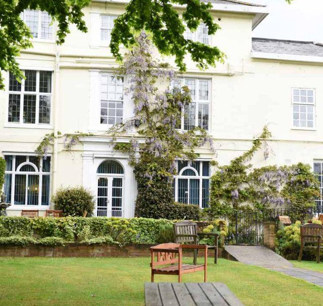 Woodbridge Lodge Care Home in Woodbridge exterior