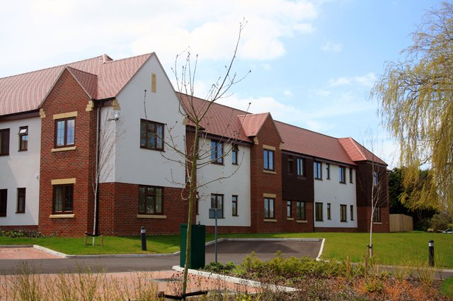 Woodchurch House Nursing Home in Ashford exterior of the home