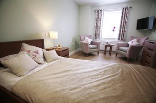 Woodlands Lodge Care Home Formby Bedroom
