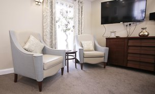 Woodlands Lodge Care Home Formby Seating Area