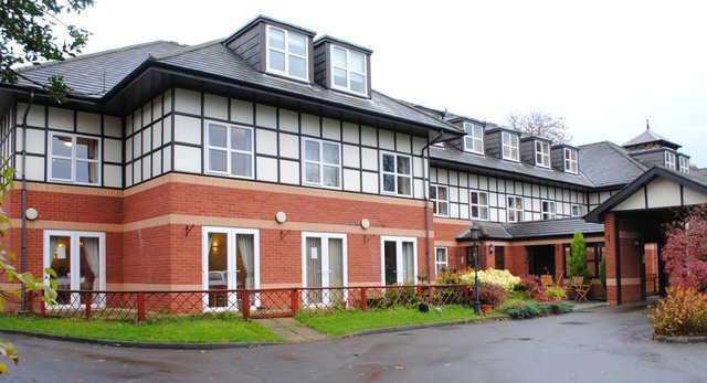Wordsworth House Nursing Home in Newcastle upon Tyne front exterior of building
