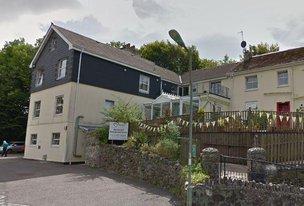 Redmount Care Home in Buckfastleigh exterior of home